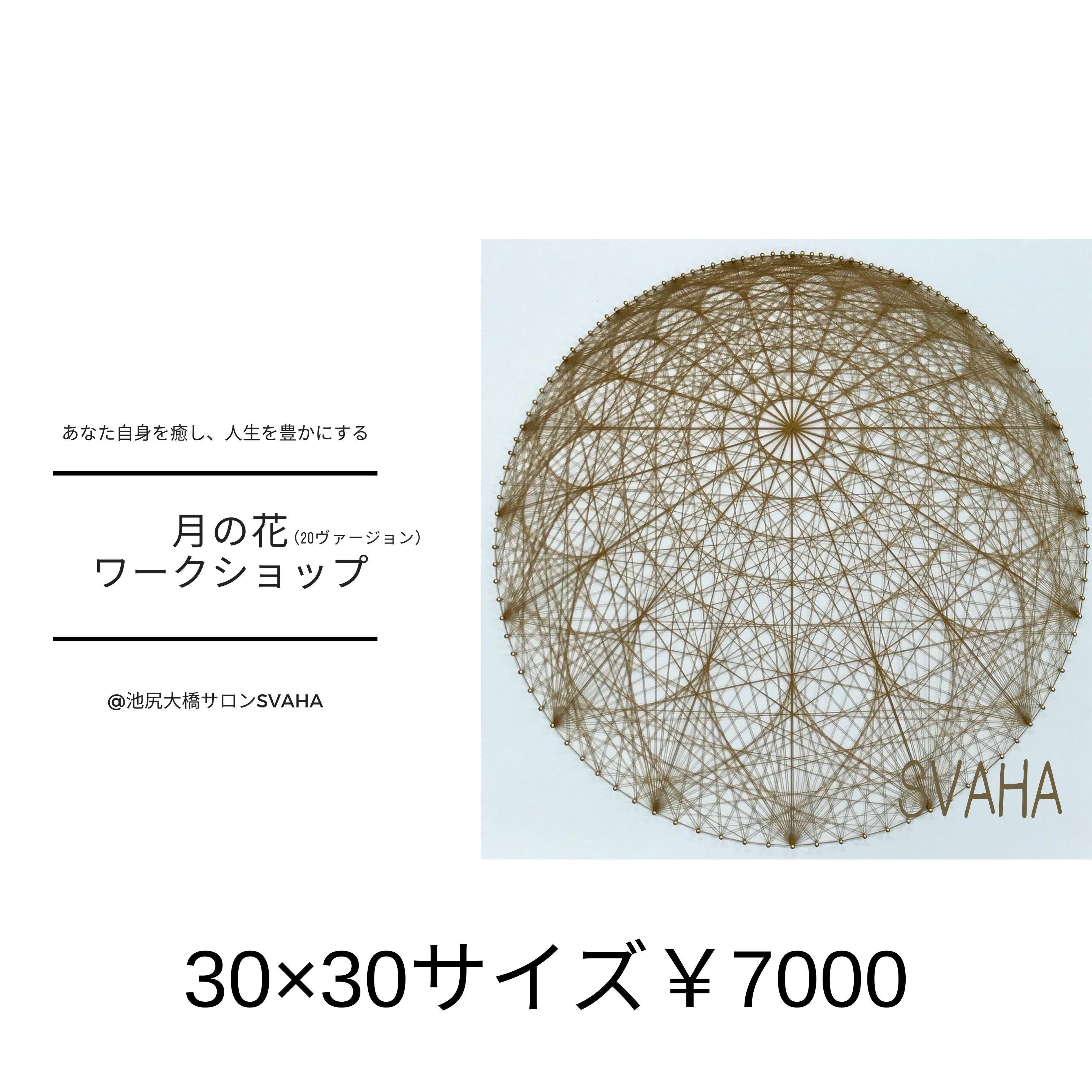 月の花20ヴァージョン30×30センチのイメージその1
