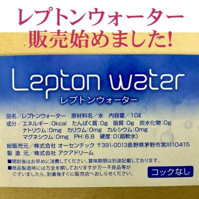 弱った細胞を元気に レプトンウォーター10L