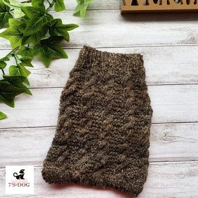 アラン編みセーター
