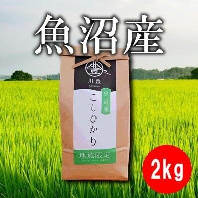【地域限定】2kg魚沼産コシヒカリ(令和元年産)