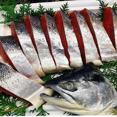 当店イチオシ紅鮭 (ロシア産 片身)