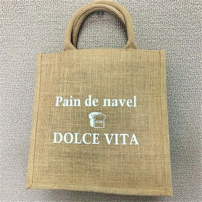 Pain de Navel&DOLCEVITAオリジナルecoバック☆