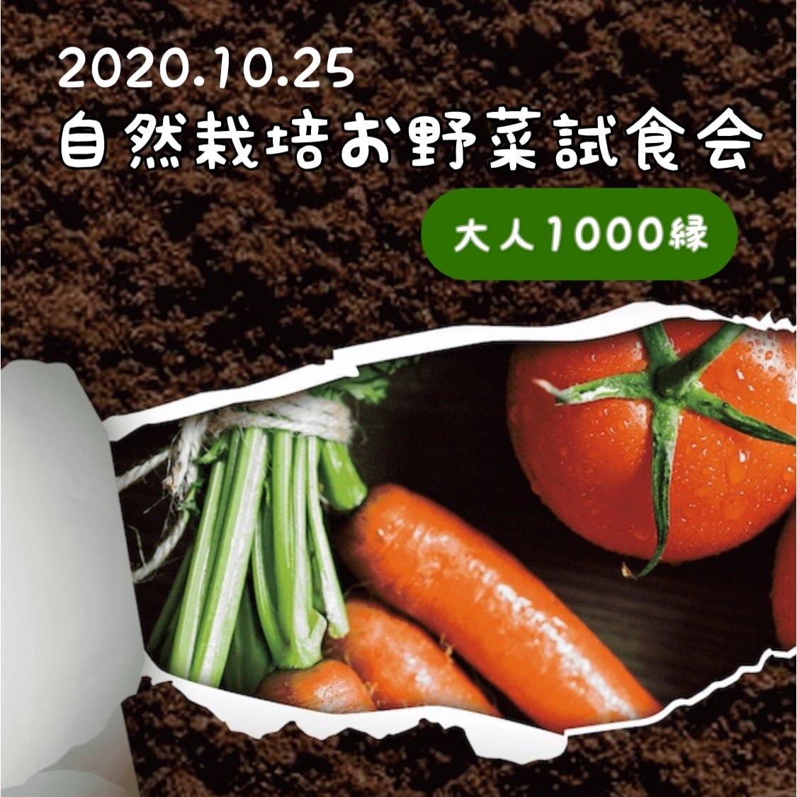 自然栽培お野菜試食会チケットのイメージその2