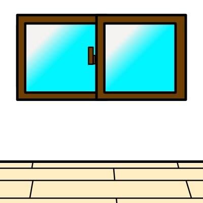 【WEB限定特価】(腰高窓サイズ)飛散防止フィルム施工チケット