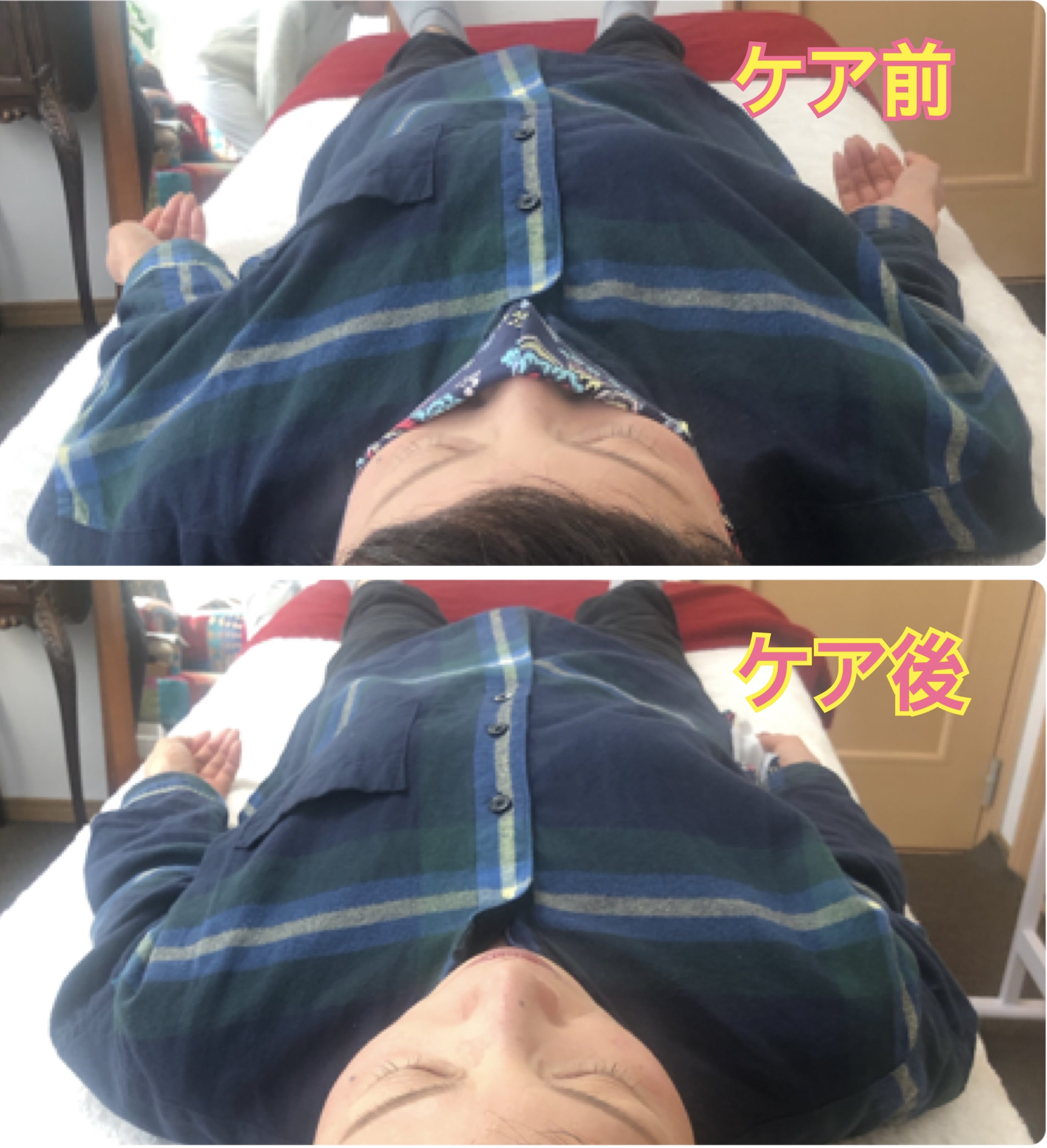 全身リンパケア 60分 肩こり・猫背・巻肩・腰痛・頭痛・眼精疲労・冷え・むくみ・リフトアップ・バストアップ・ヒップアップ・しわ・たるみのイメージその4