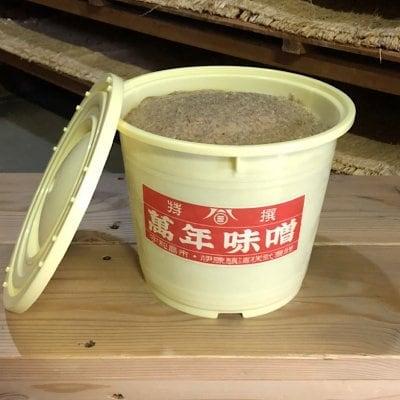 【袋のみ5kg】萬年味噌 麦味噌