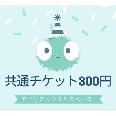アイリス共通チケット300円