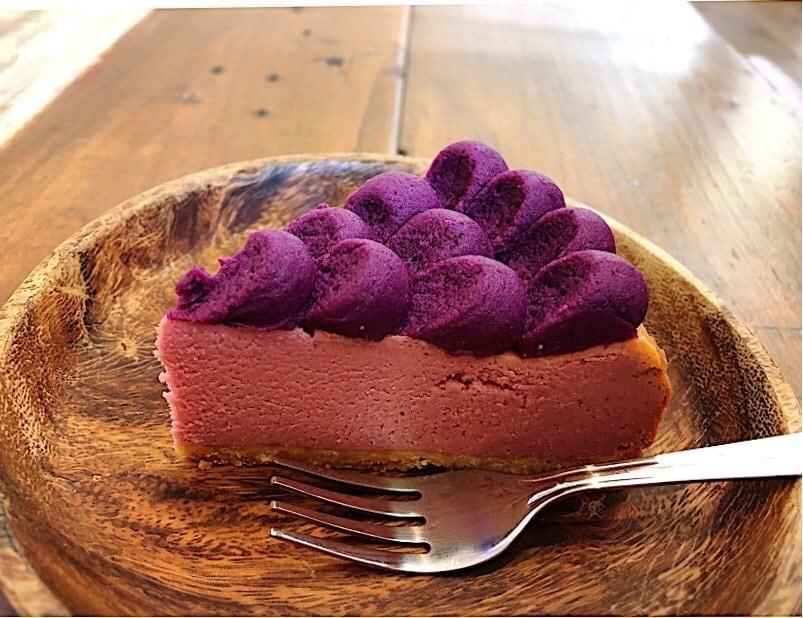 【店頭受け取り限定】紅芋チーズケーキ(6号)のイメージその3