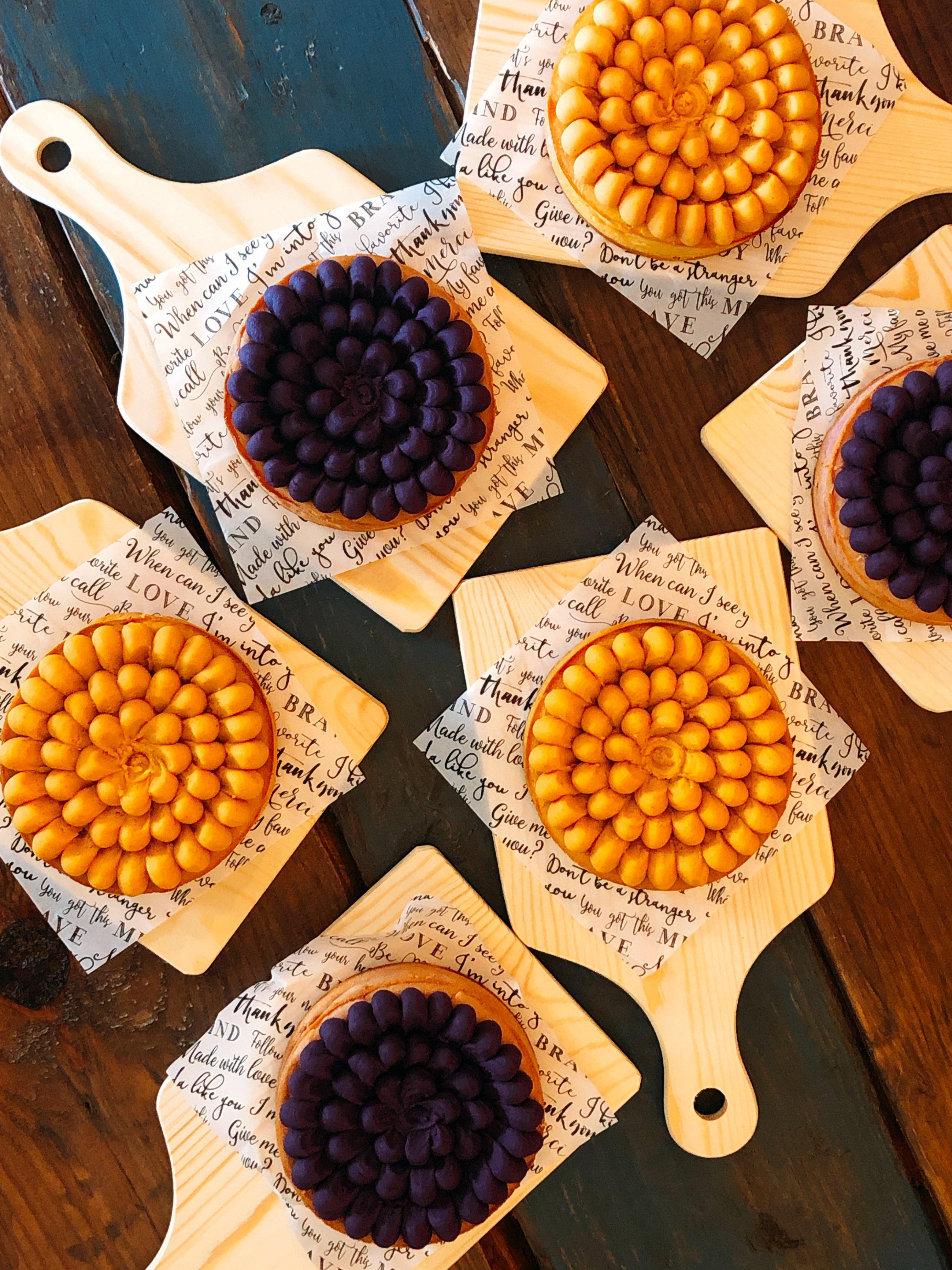 6周年限定価格!紅芋チーズケーキ(4号)のイメージその1