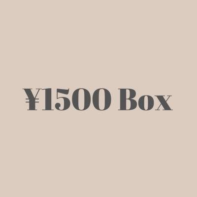【現地払い専用】 レンタルボックス 1500円 作家様専用