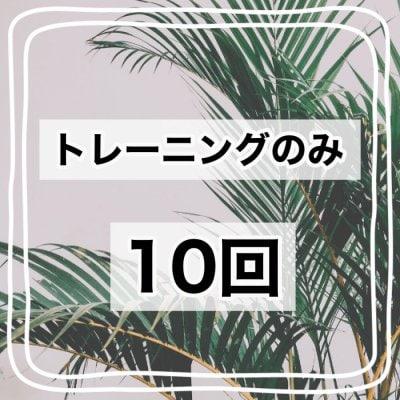 【トレーニングのみ】10回