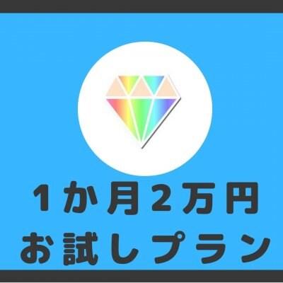 1か月お試しプラン<登録料2万円のみ!>1か月間お相手探しやナナマリのサービスをお試しすることができます