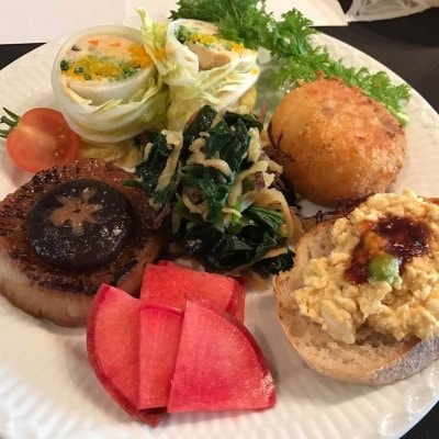 【12月3日(木)正午から】月森紀子の「野菜と戯れる2DAYS」創作ランチ(デザート&飲み物付き)