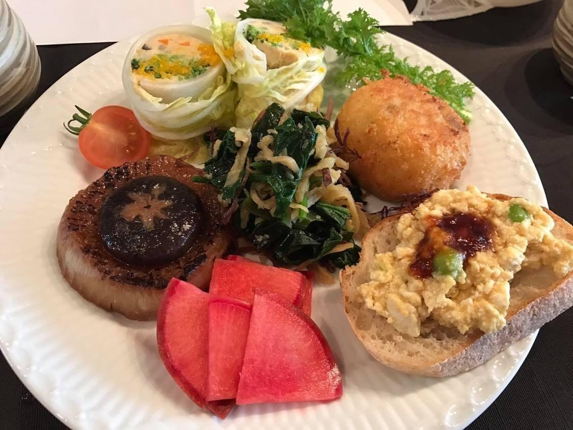 【12月3日(木)正午から】月森紀子の「野菜と戯れる2DAYS」創作ランチ(デザート&飲み物付き)のイメージその1