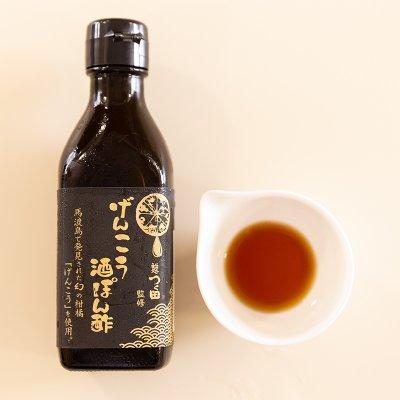 【九州圏内送料無料】辛麺鬼丸の餃子20個とげんこう酒ポン酢のセット
