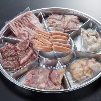 【肉の専門店監修】【BBQに最適】和牛セットB (5.6人前)(1.1kg)