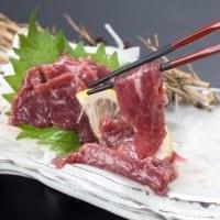 限定品100セット【熊本名物】【厳選】馬肉  赤身肉 上赤身肉 の2点セット ブロック合計400gのセット