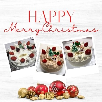 うさぎや特製クリスマスケーキ 5号 |15cm チョコ生クリーム