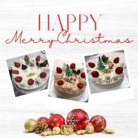 うさぎや特製クリスマスケーキ 5号 生クリーム