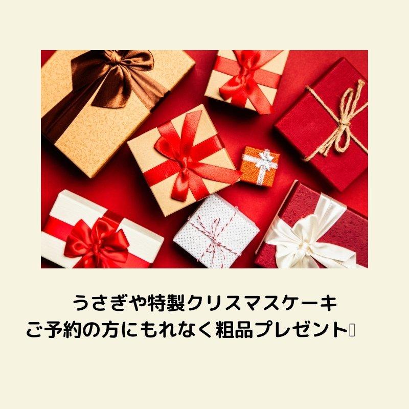 うさぎや特製クリスマスケーキ 5号  15cm チョコ生クリームのイメージその3