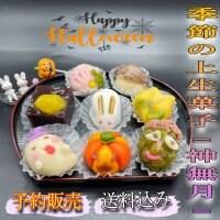 【予約販売】季節の上生菓子《神無月》|8個入り|クール便送料込み|10月24日締切、10月26日発送開始