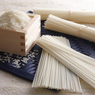 グルテンフリー 米粉の麺 【米麺】500g(100g×5本)