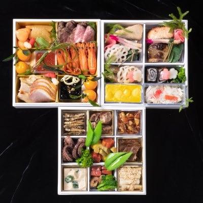 京近江のおせち料理3段重