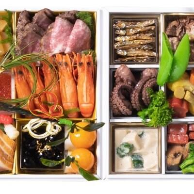 京近江のおせち料理2段重