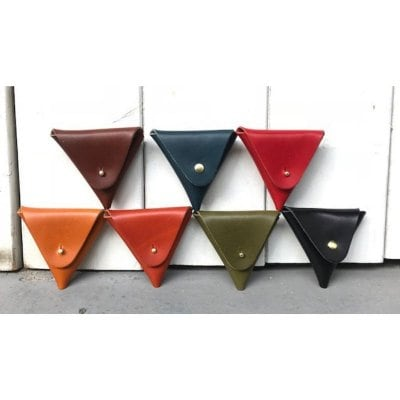 コインケース(三角)