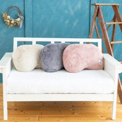 「送料無料」【プリンセスの抱き枕専用カバー】NEW人気のアースカラー全3色・スモーキーピンク・スモーキーグレー・ベージュ・ラビットファーでふわふわ。※注意・こちらはカバーのみになります。