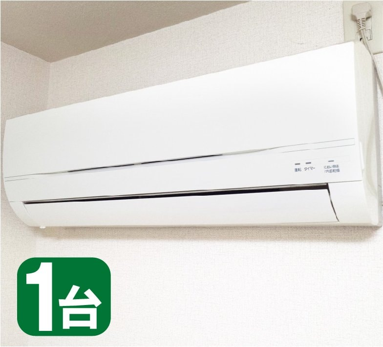 エアコンクリーニング(家庭用壁掛けタイプ、お掃除機能なし)のイメージその1