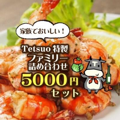 『特製ファミリー詰め合わせ』Tetsukoハンバーグ4個・ガーリックシュリ...