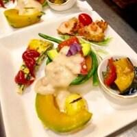 <ディナー>オーガニック旬野菜の前菜プレート
