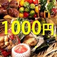 農家直送!有機野菜1000円分購入チケット