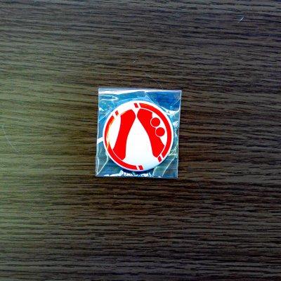勝手につくば大使ロゴ缶バッジ