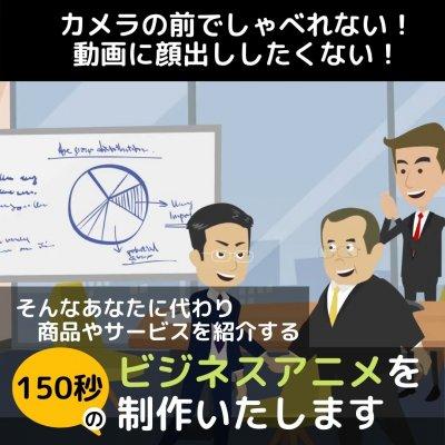 あなたのお店や商品を紹介する【150秒間/約20-25シーン】のビジネスアニメーションを制作します!