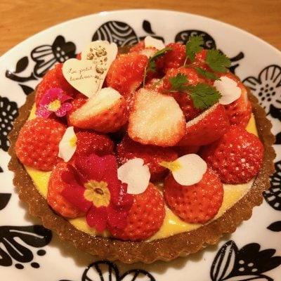 イチゴのタルトレッスン【卵.乳製品.小麦粉.白砂糖不使用 グルテンフリー】