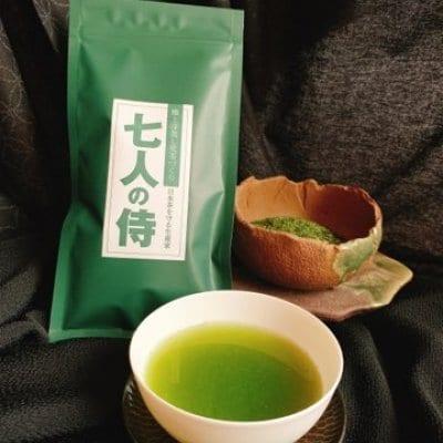 極上深蒸し荒茶づくり「7人の侍」100g詰 単品注文用 ポイント10%還元!!お茶の濃さ通常の3.5倍!その濃さにビックリして下さい。その深い味わいにビックリして下さい。