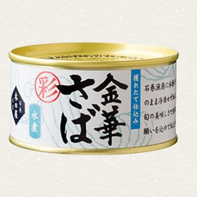 <国内産水産物応援商品>2月末迄、送料無料でお届け致します。 金華鯖 水煮缶 170g×24缶 期間限定商品
