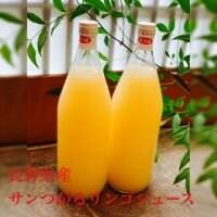 長野県産!旬彩心粋のサンつがるリンゴジュース1ℓ×2本set