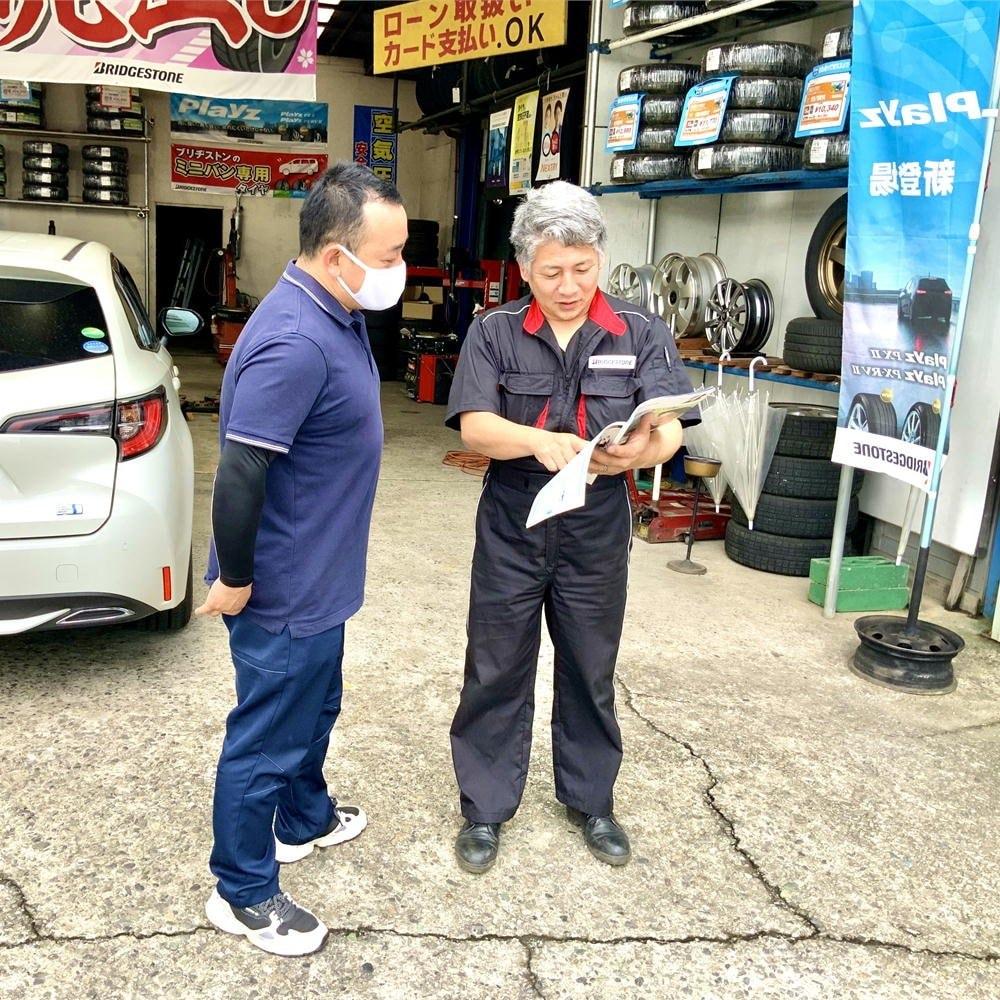 小型自動車(2000cc以下、ディーゼル除く)のエンジンオイル交換/長野県飯田市タイヤ専門店宗橋タイヤのイメージその1