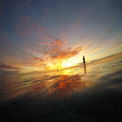 絶景!! 日の出SUP&ウミガメコース【写真撮影付き・ウミガメ遭遇率90%!!】