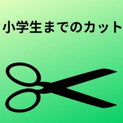 【学生】小学生までカット専用チケット