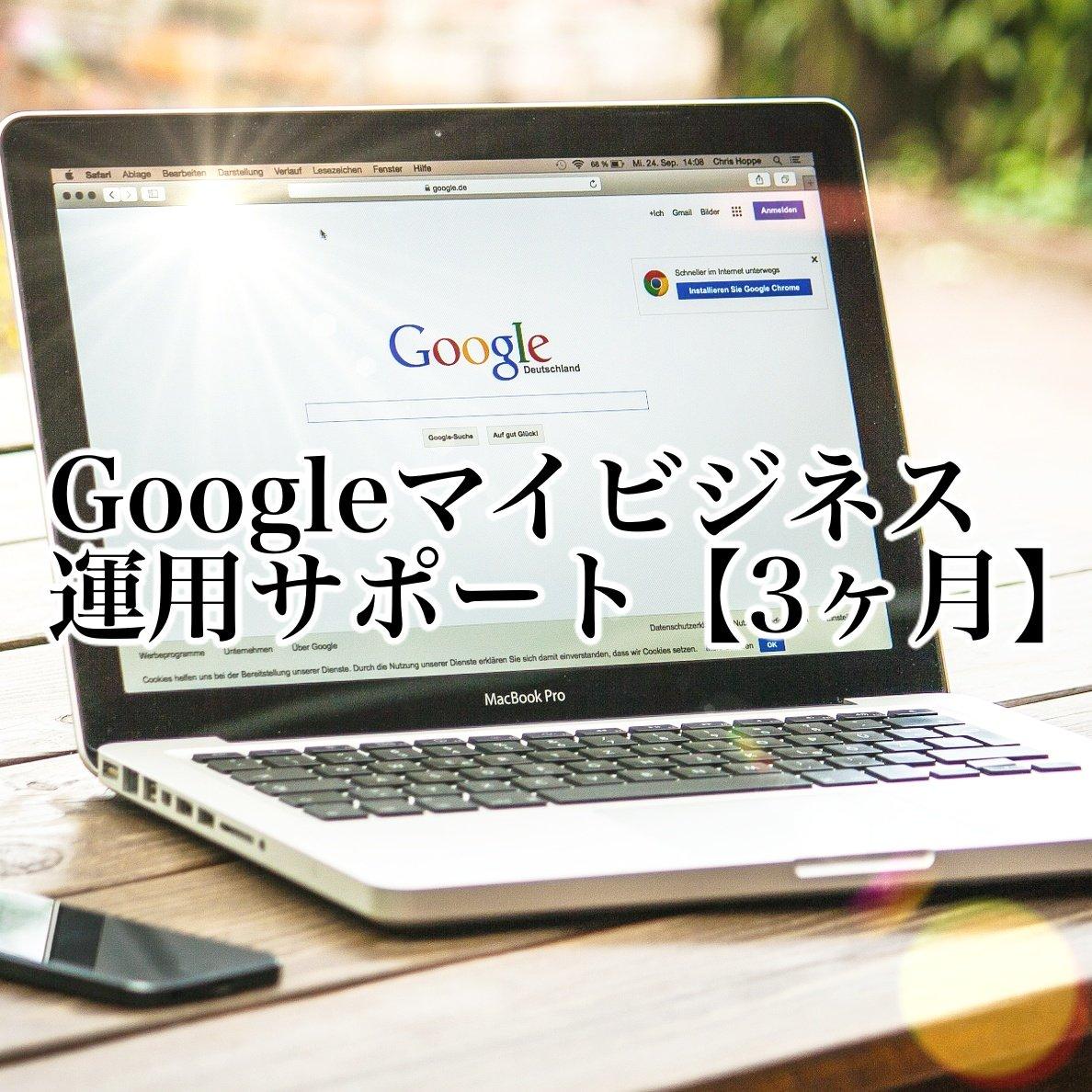 Googleマイビジネス運用サポート【3カ月】のイメージその1