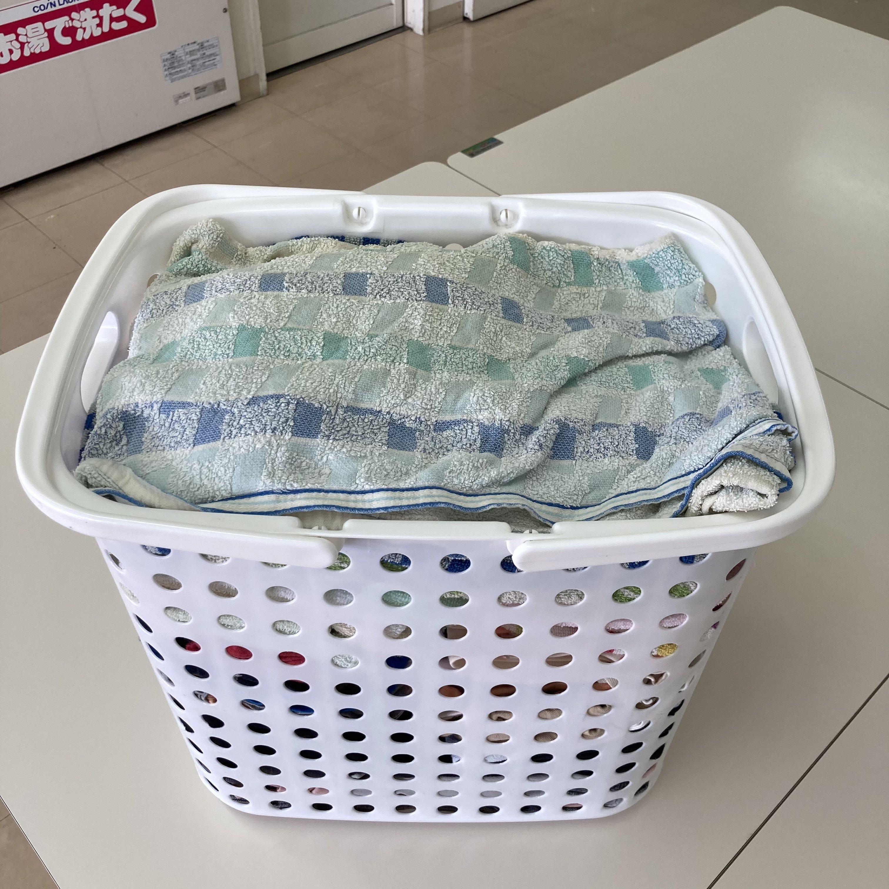 洗濯代行・たたみサービス4kg(目安・中バスケット)のイメージその4