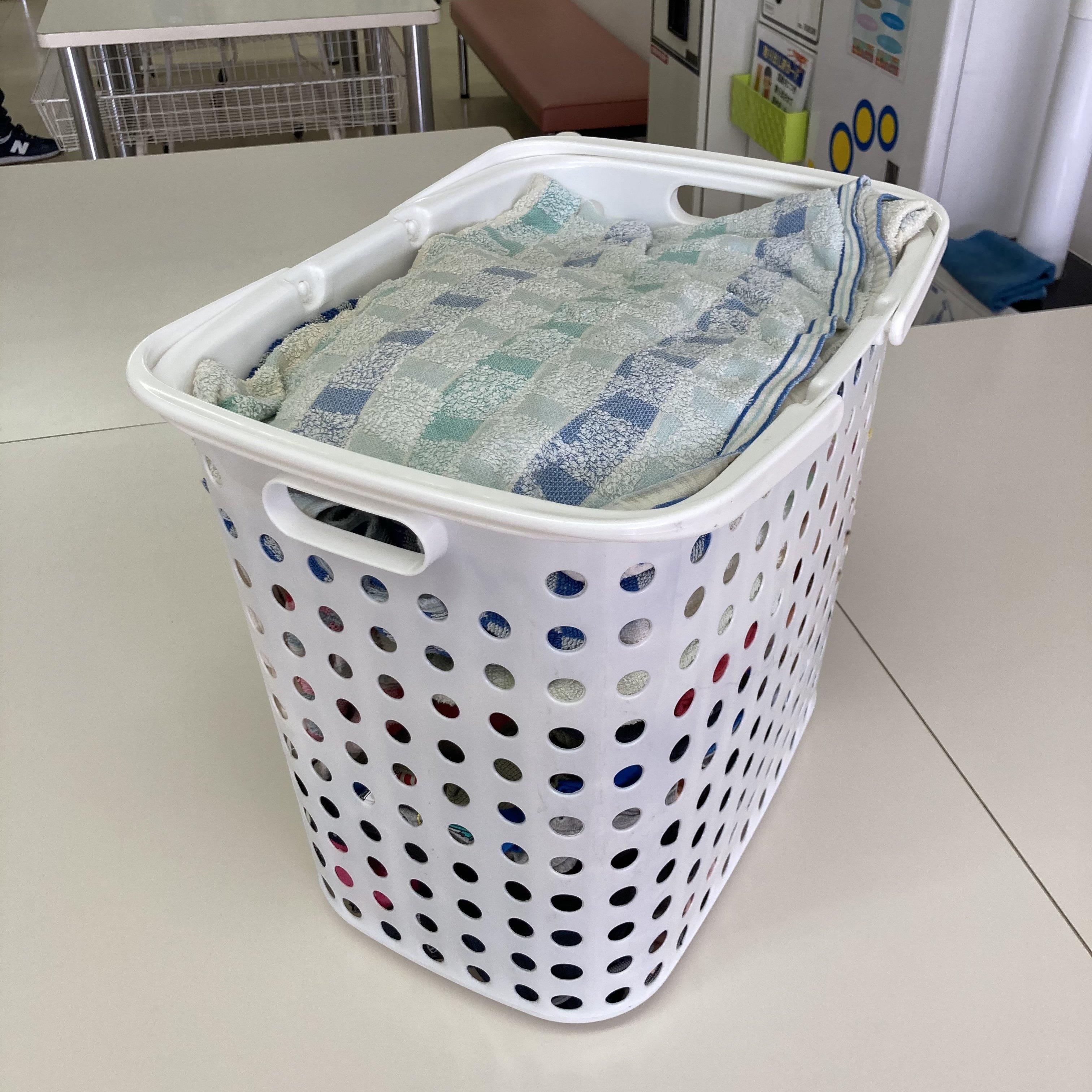 洗濯代行・たたみサービス4kg(目安・中バスケット)のイメージその3