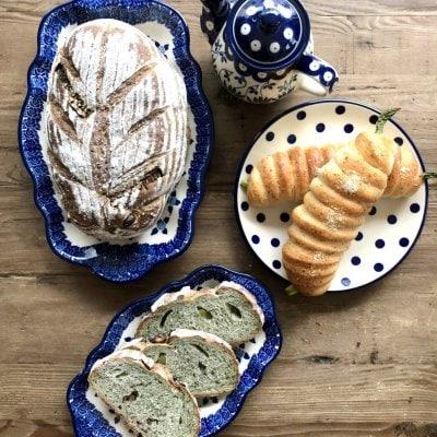 【2種類】自宅にいながら気軽にパン作り♪ maricopainオンラインレッスン