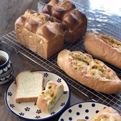 【2種類10月メニュー】自宅にいながら気軽にパン作り♪ maricopainオンラインレッスン