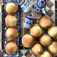 【リクエストパン】ほんのり甘くてふわっふわの北欧パン♪(4個)毎週金曜発送