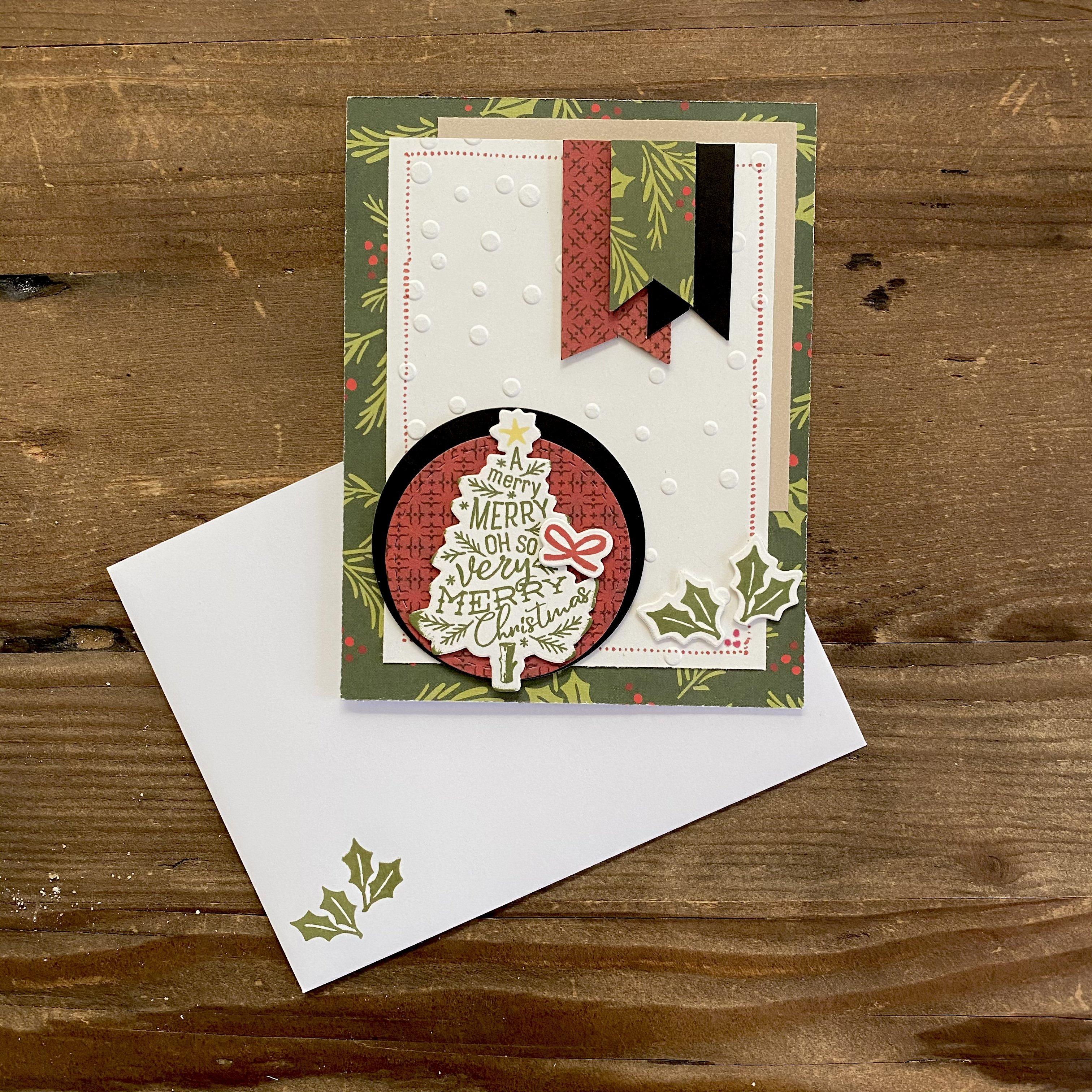 【少人数開催】ショップで素敵なクリスマスカード作り♪ maricopain ペーパークラフトレッスン11月のイメージその2